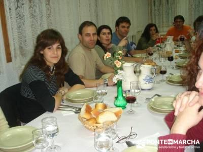 Después de la aventura la buena cena; rutas senderismo comunidad de madrid; rutas cerca de madrid